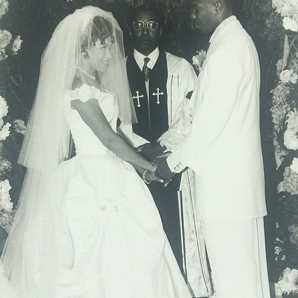 The couple tied the knot August 1996