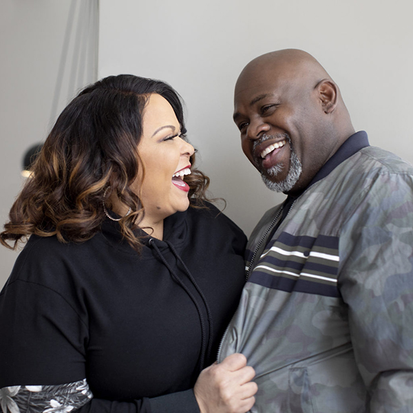 Tamela and David Mann have been happily married for 30 years (Credit: WW)