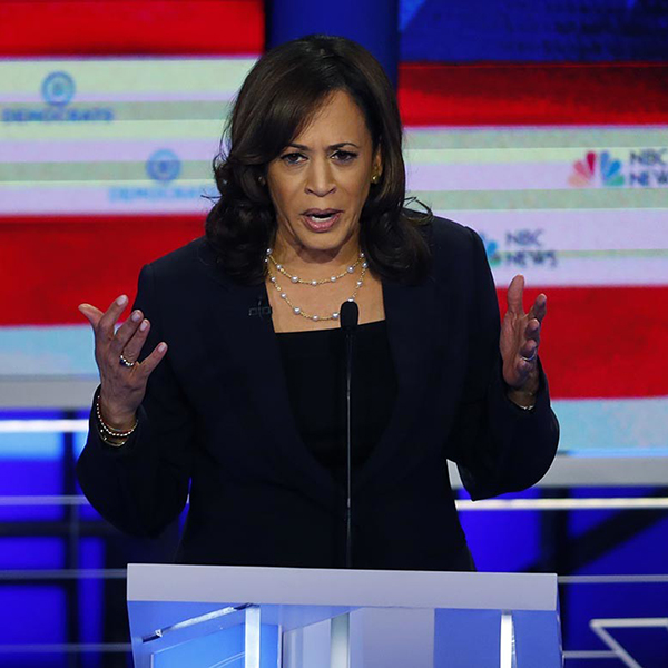 Senator Kamala Harris (Getty)