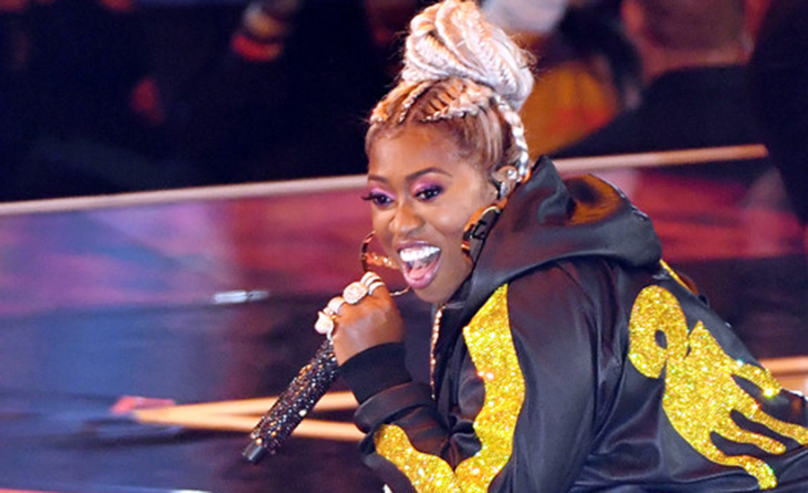 Missy Elliott performs onstage during the 2019 MTV Video Music Awards at Prudential Center on August 26, 2019 in Newark, New Jersey. (Credit: Getty Images)