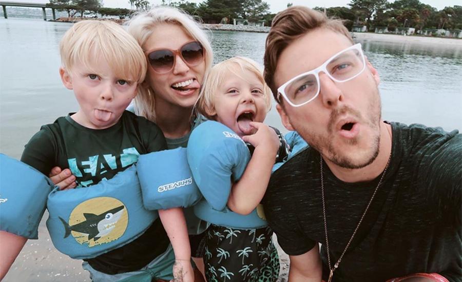 Jarrid Wilson's family (Credit: Instagram)