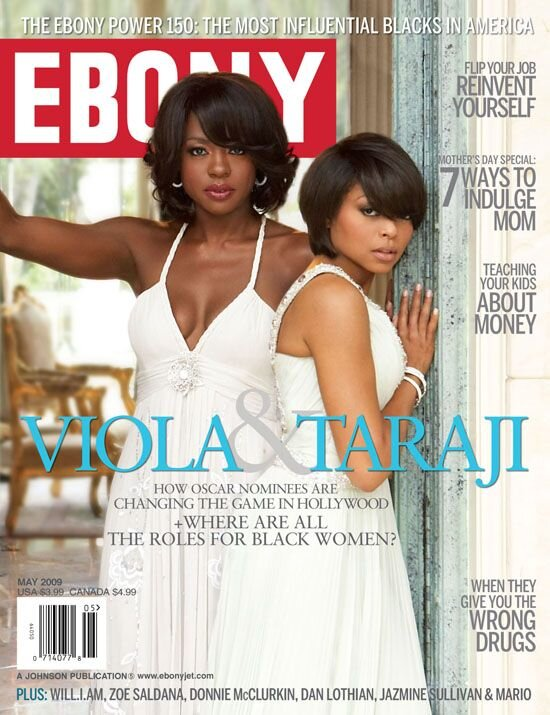 """Cover girls Taraji P. Henson and Viola Davis lift each other up and it's a beautiful thing to see."" ~ EEW Magazine Online"