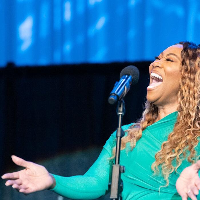 Yolanda Adams sings from her soul (Credit: Congressional Black Caucus Foundation, Inc.)