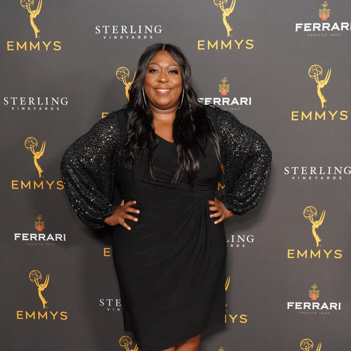 Loni Love attends the Television Academy Daytime Programming Reception at Television Academy's Wolf Theatre at the Saban Media Center on August 28, 2019 in North Hollywood, California. (Credit: Rachel Luna/Getty)