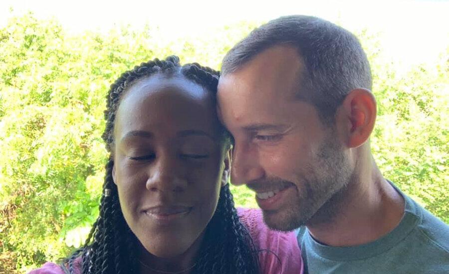 Kenesha Antoine and Steven Weber were in love (Credit: Facebook)