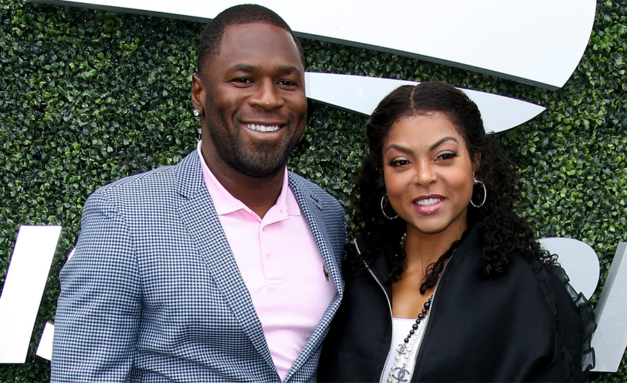 Kelvin Hayden and Taraji P. Henson (Credit: GC Images)