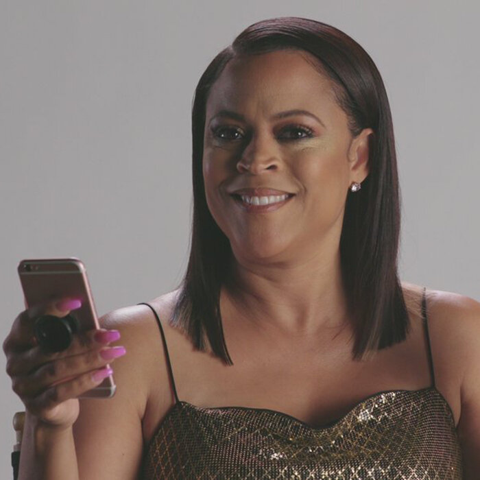 Shaunie O'Neal stars in and is executive producer of  Basketball Wives  (Credit: VH1)