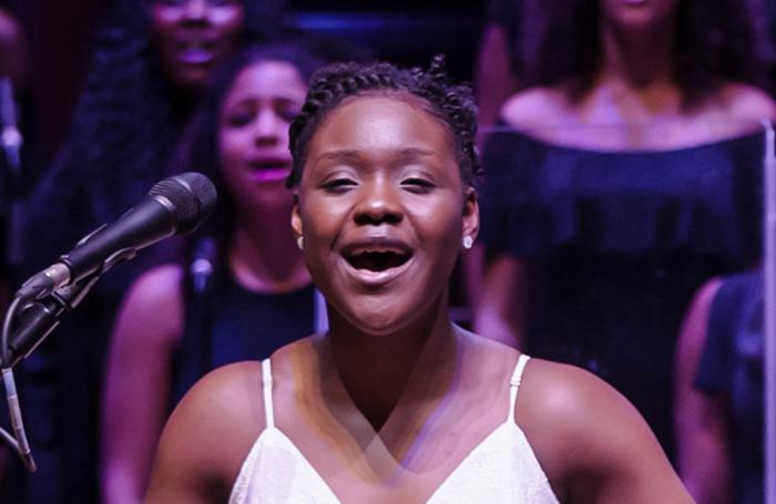 Seyi Omooba performed as Nettie in  The Color Purple  at Cadigan Hall in 2017 (Credit: Scott Rylander)