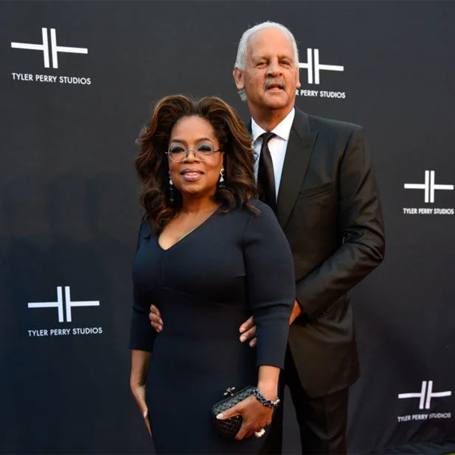 Oprah and Stedman (Credit: Getty)