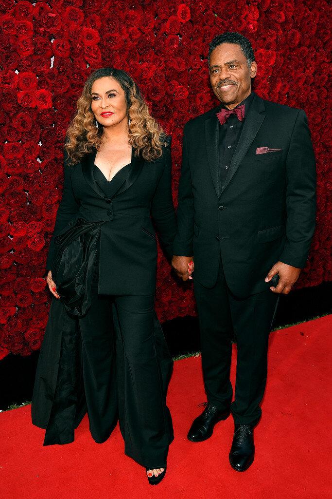 Tina Knowles and Richard Lawson
