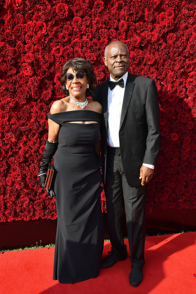 Maxine Waters and Sid Williams