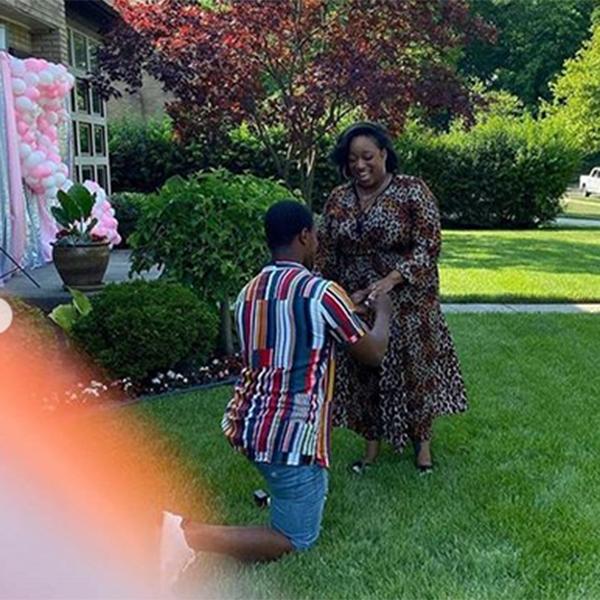 Jordan Kelly proposes to gospel singer Kierra Sheard in Detroit, MI on on her 33rd birthday (Photo Credit: Kierra Sheard Instagram)