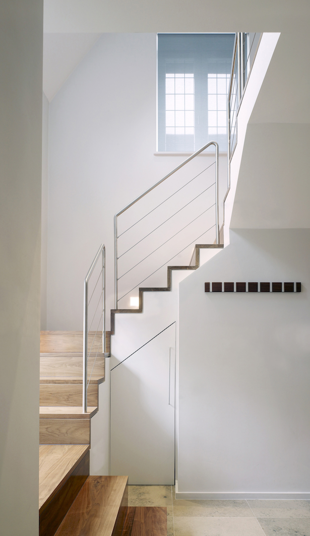 Putney House London, by minimalist London architect practice Thompson + Baroni