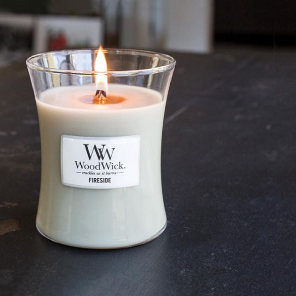 via Instagram  @woodwick_candles