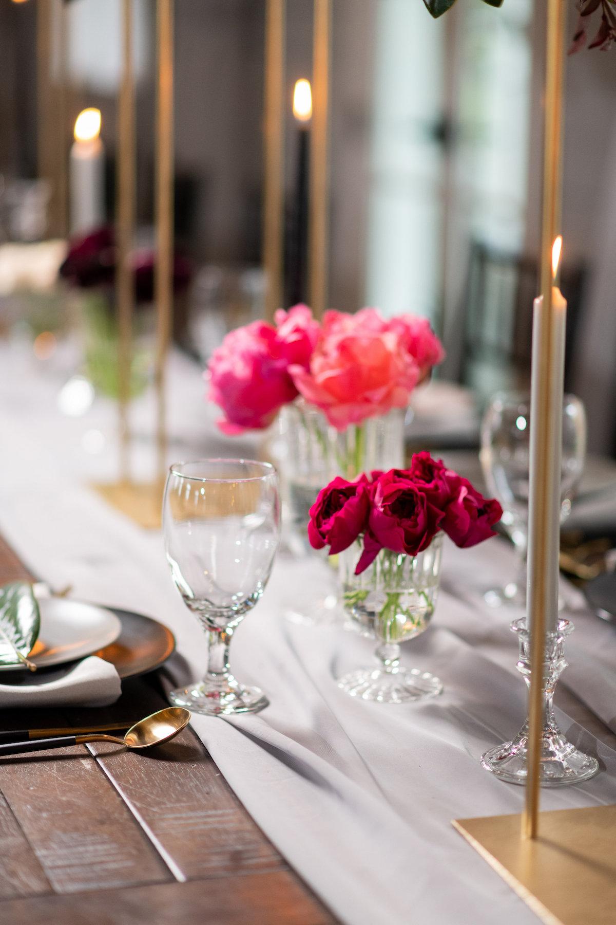color inspiration for wedding reception