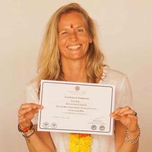 300RYT graduation, Sampoorna Yoga, Goa