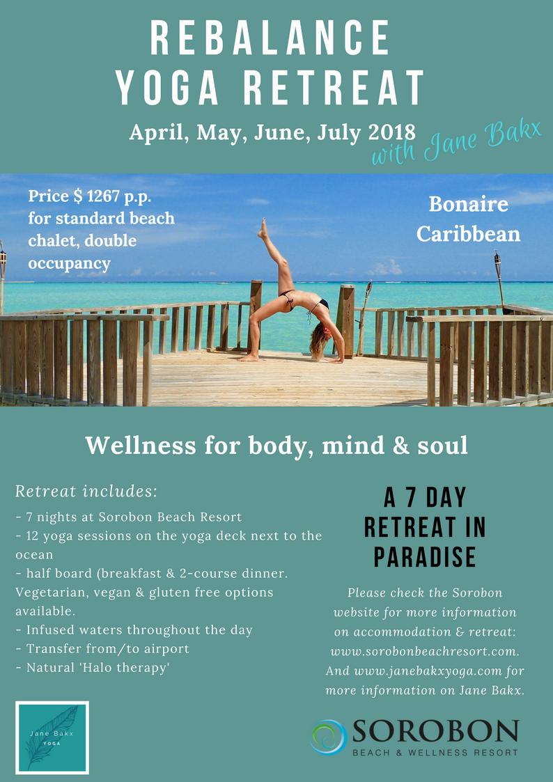 Rebalance yoga retreat