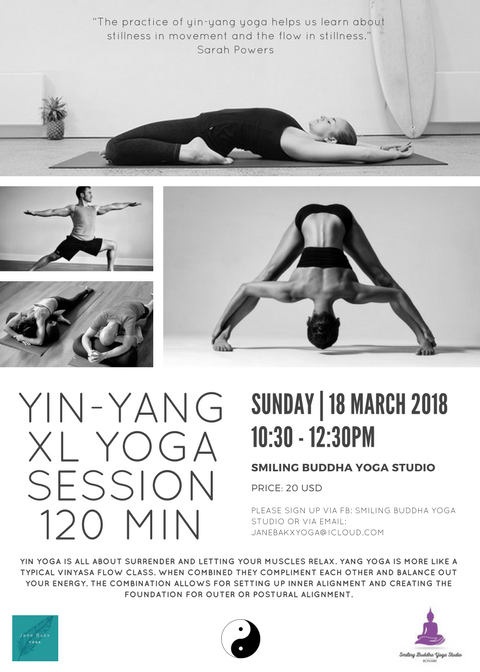 Yin-Yang XL yoga session