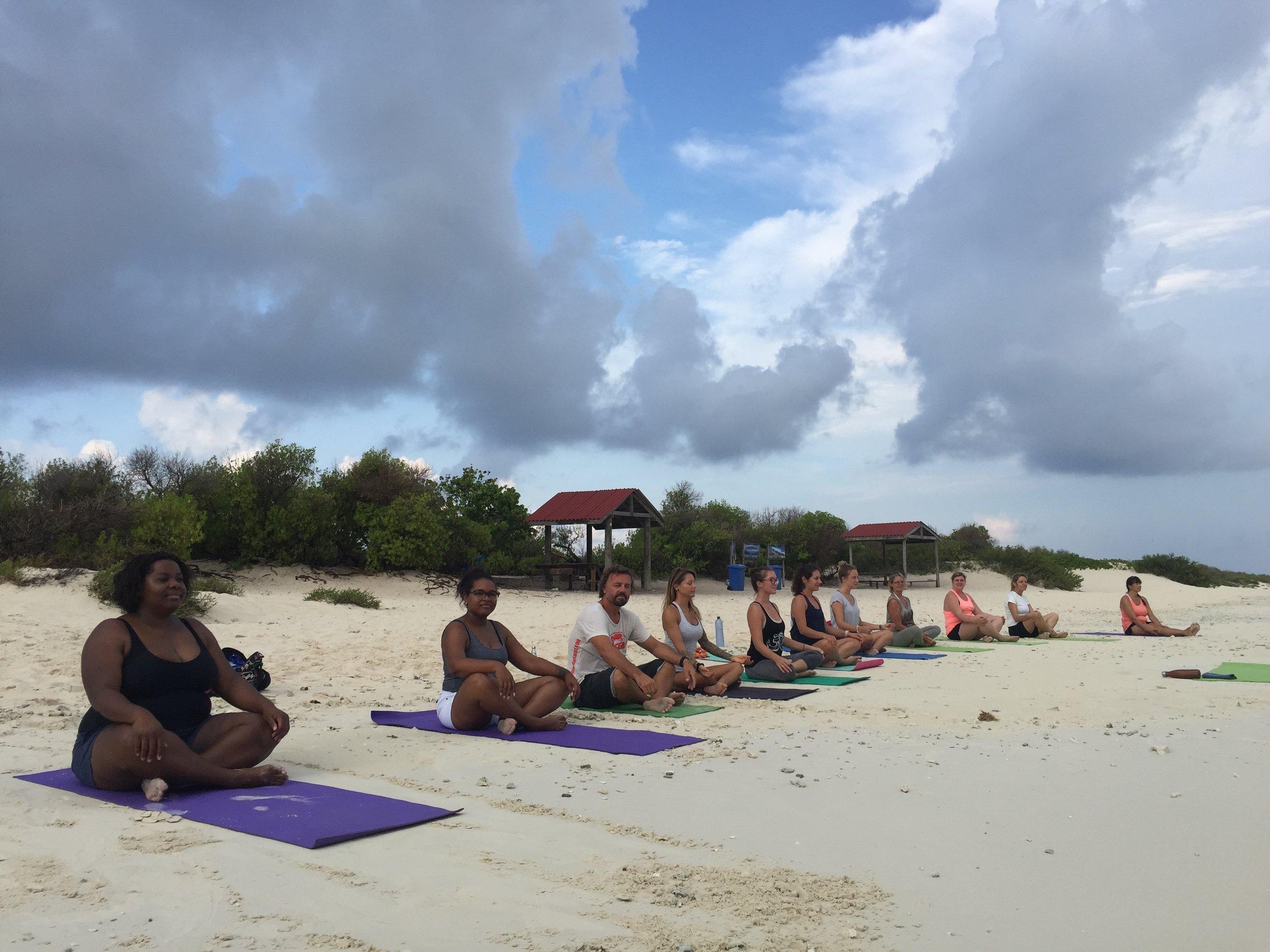 Yoga on Klein Bonaire
