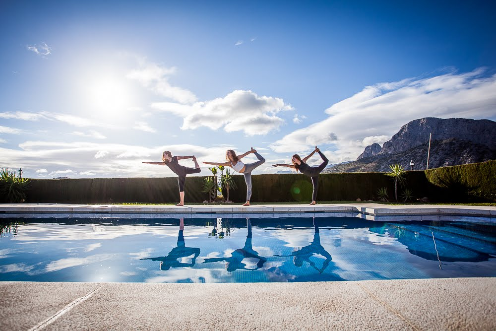 TTC girls at pool