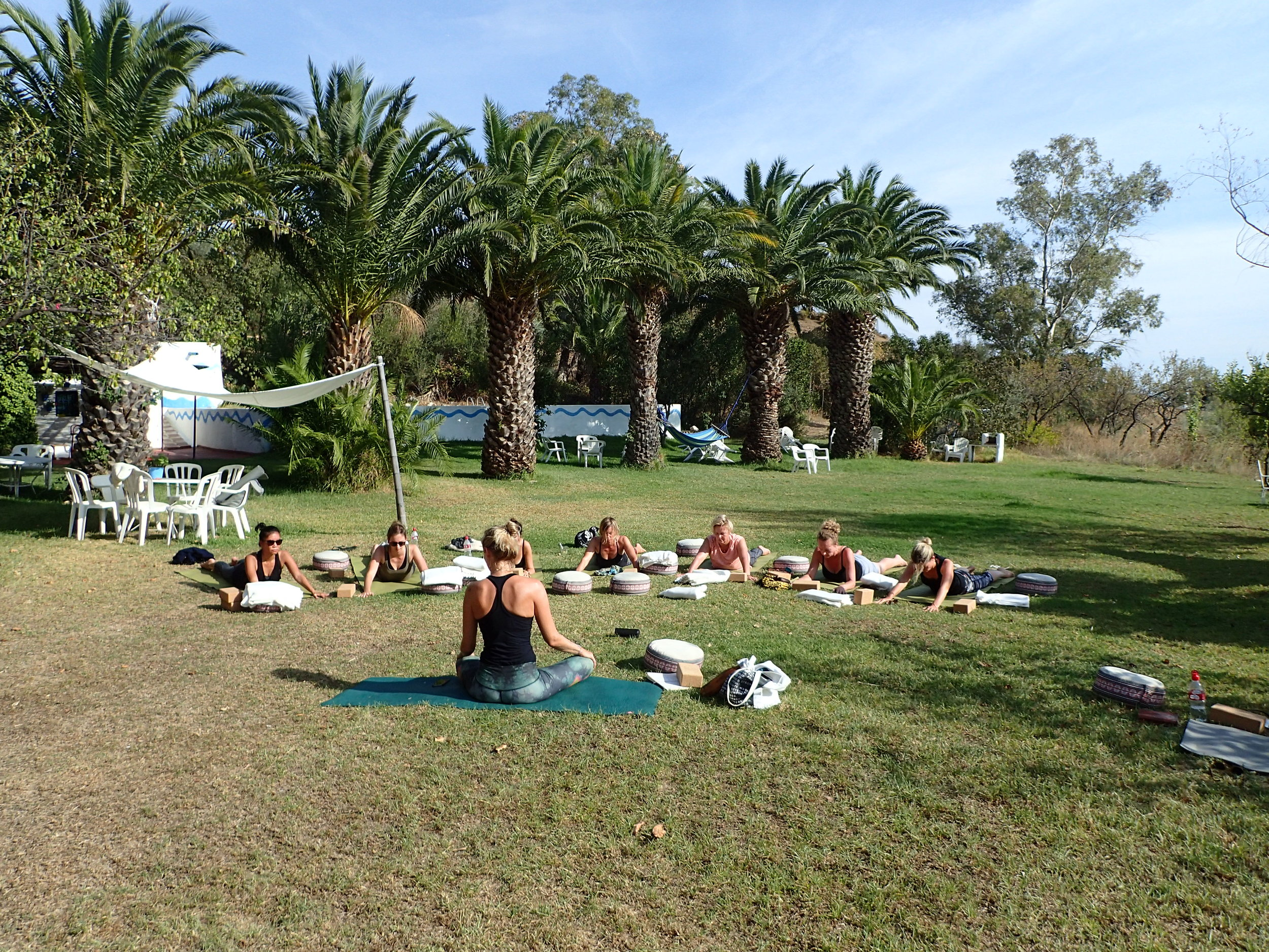Viva la Vida Yin session garden