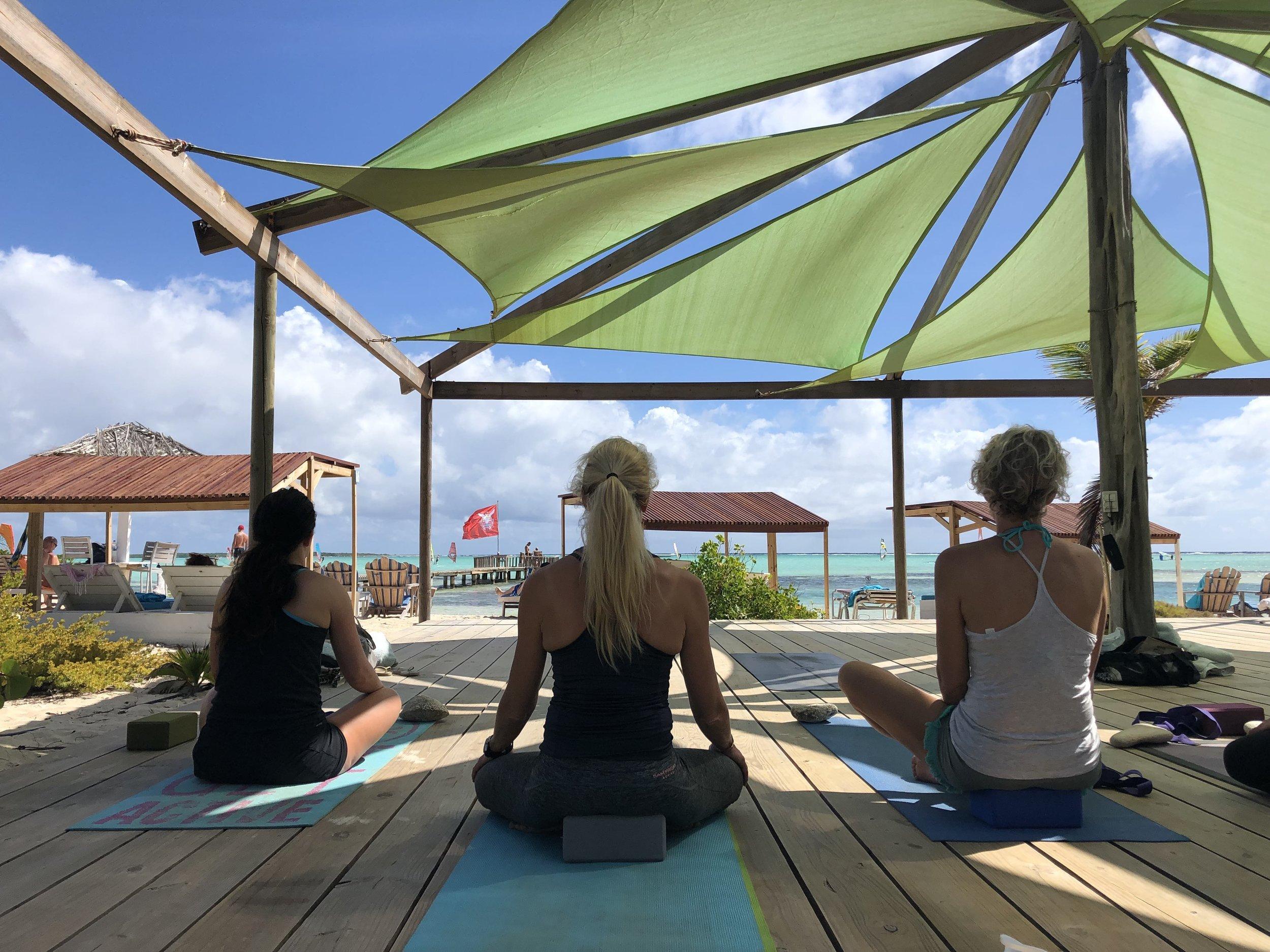 Sorobon yoga deck