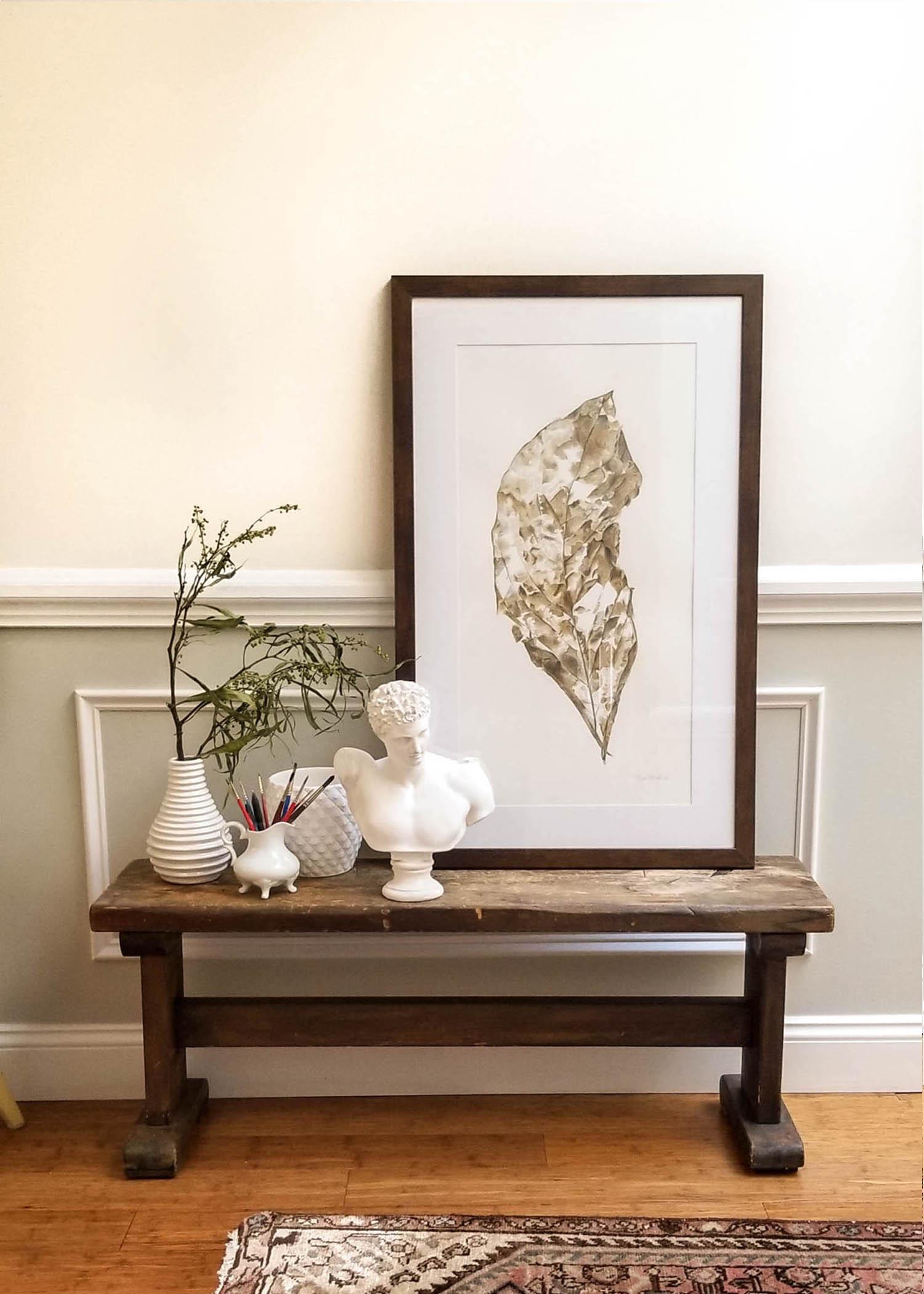 Bench dec leaf 20 white porcelain.jpg