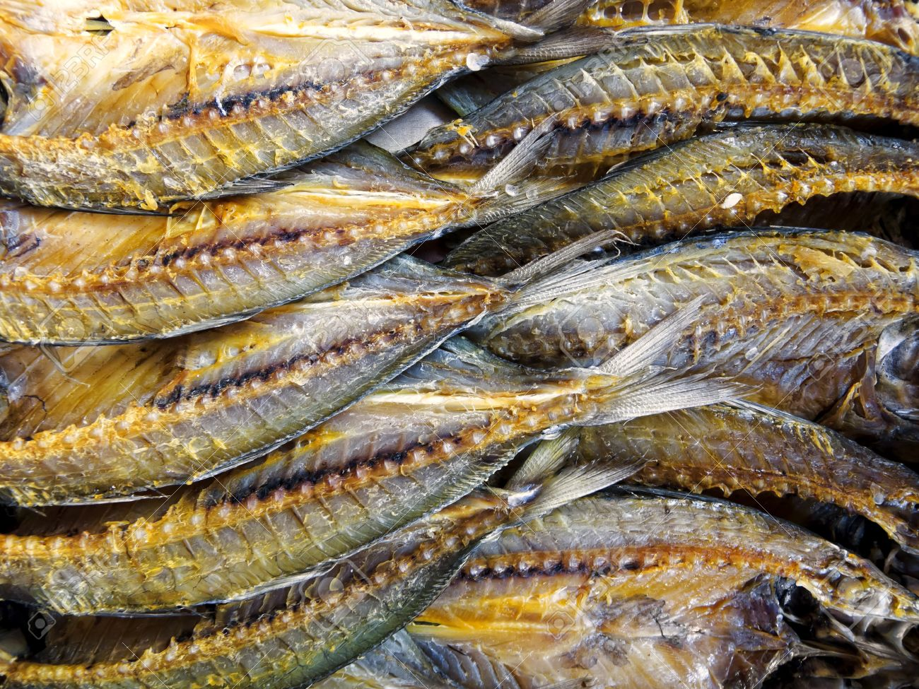 Asian dried and salted fish