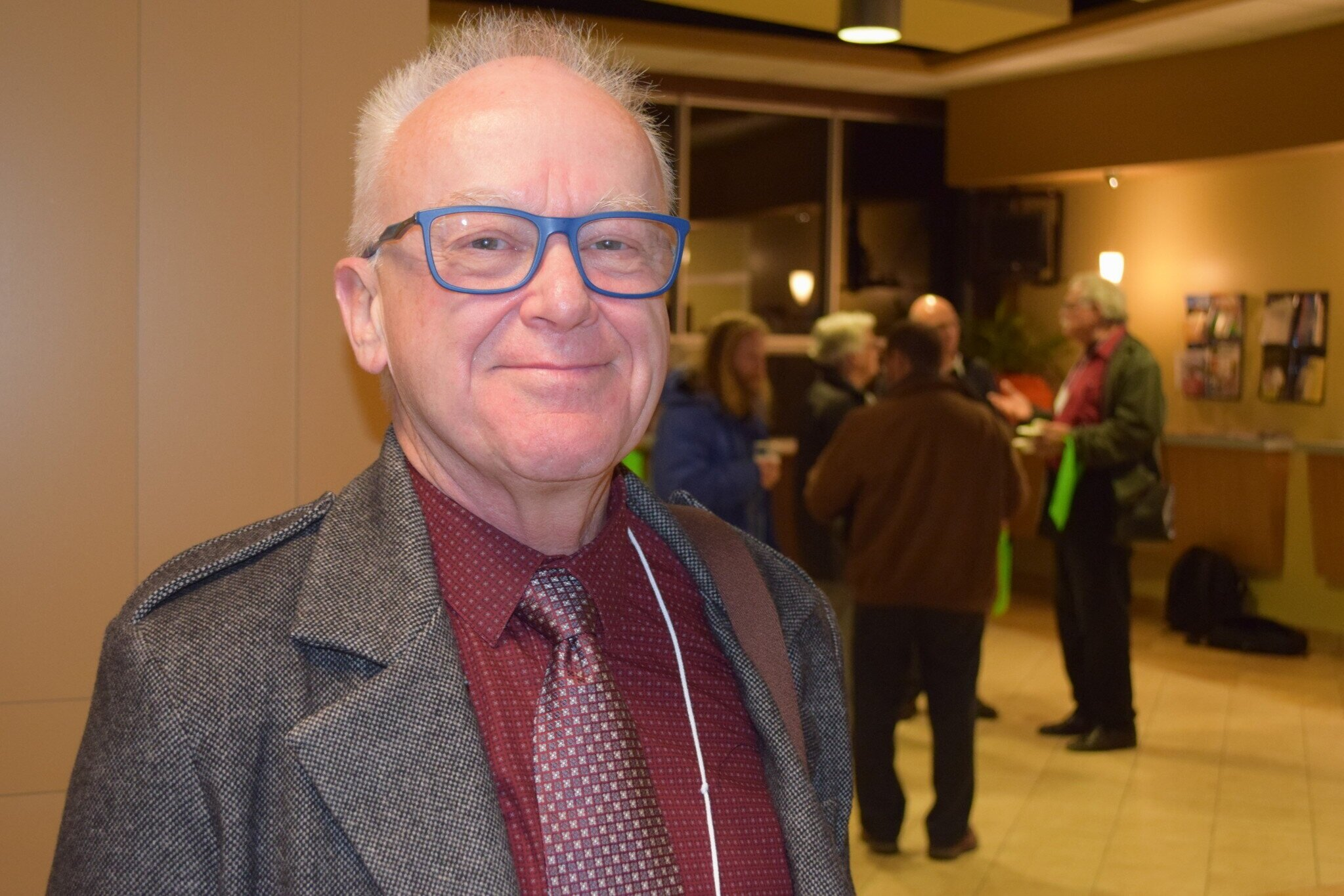 Albert Cyr - President of the NB Coalition for Mental Health and Addictions