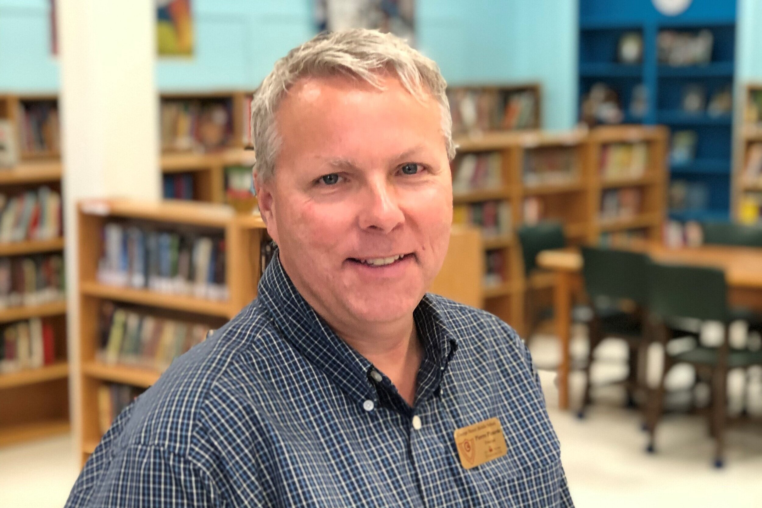 Pierre Plourde - Principal, George St Middle School, Fredericton