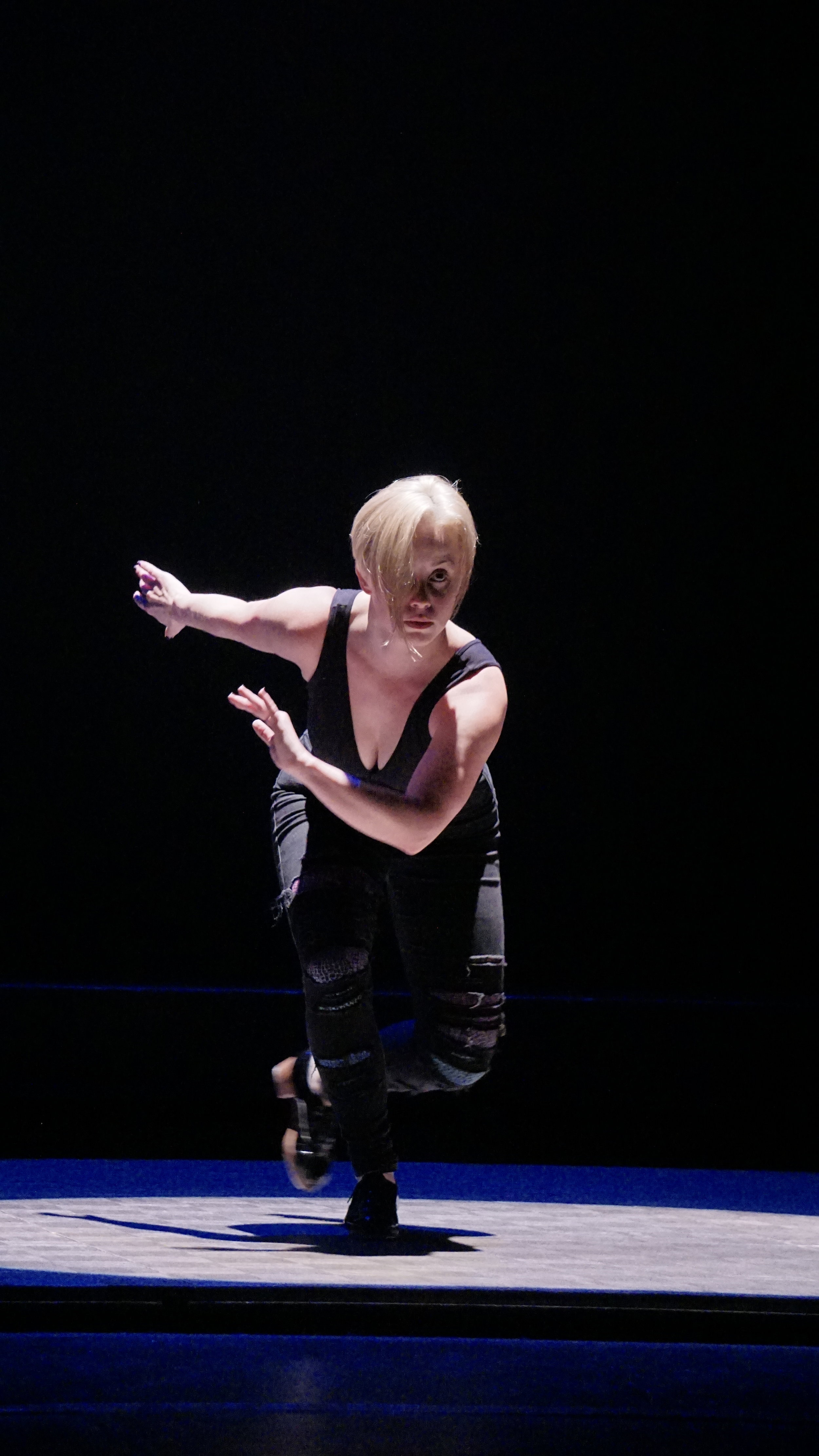 """Robin Passmore in """"Ordinary People"""" at the 2016 company show"""