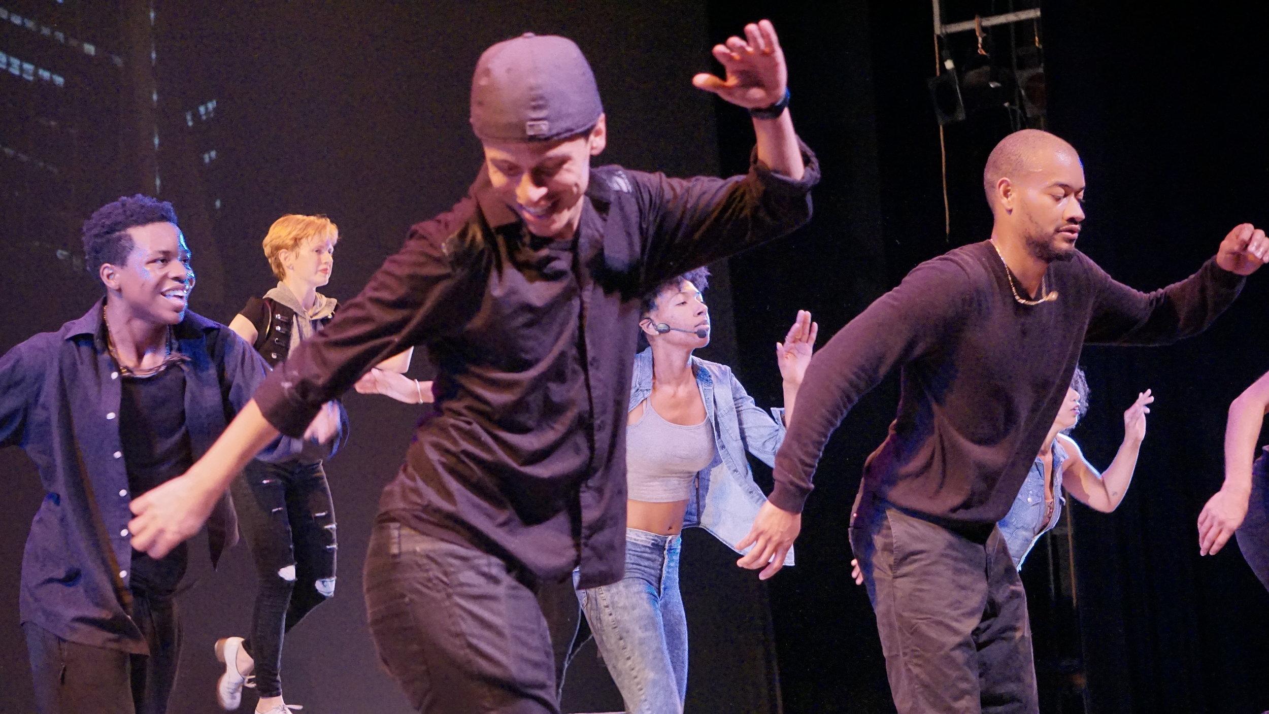 "Charles Renato in ""Empire"" at the 2016 company show"