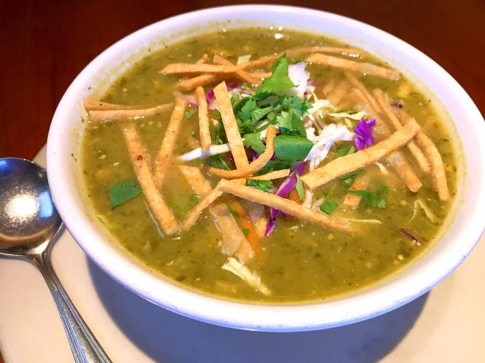 Mmmmmmm... Pollo y Tomatillo Soup!