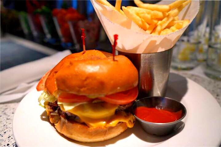 Our amazing burger!