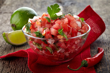 Only the freshest ingredients for our salsas!