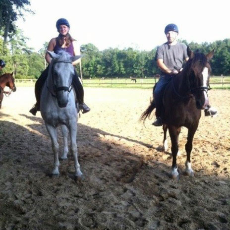 Jillian S. Barton of Robertson Hollingsworth Manos & Rahn, LLC    We enjoyed horses, fresh air, and trail rides on Johns Island: the perfect escape from traffic, stress, work and busy life. #livingabovethebar