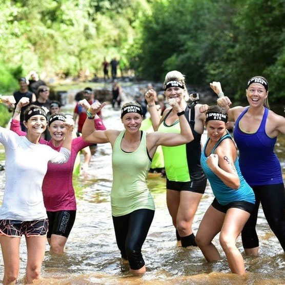 Lyndey Zwing of Adams and Reese LLP  12 mile Spartan Super mud run in Asheville complete with 27 obstacles. #fitlife #livingabovethebar @scbaryld