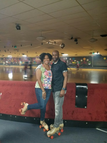 """Tamika Cannon, of South Carolina Legal Services  """"The photos were taken after a night of fun with my husband. Roller skating is great exercise and date night allows us to invest into our relationship."""""""