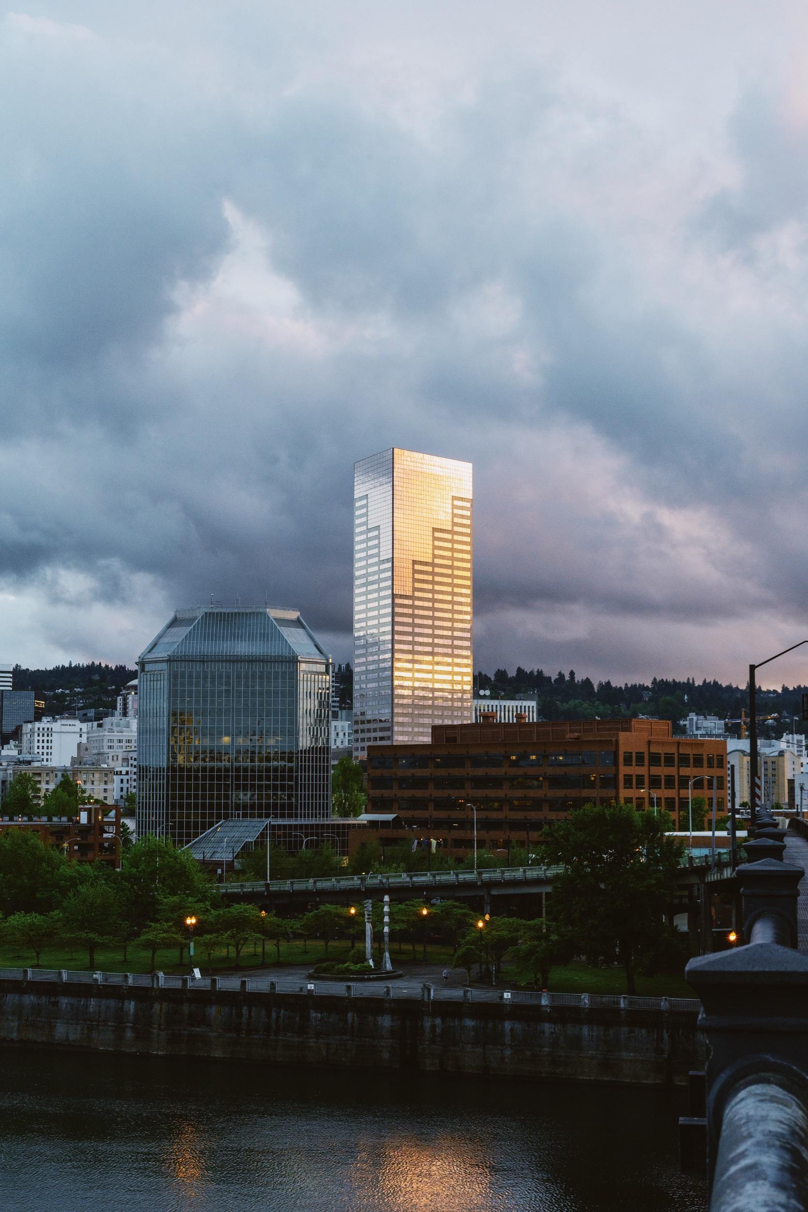 Copy of Portland Sunset