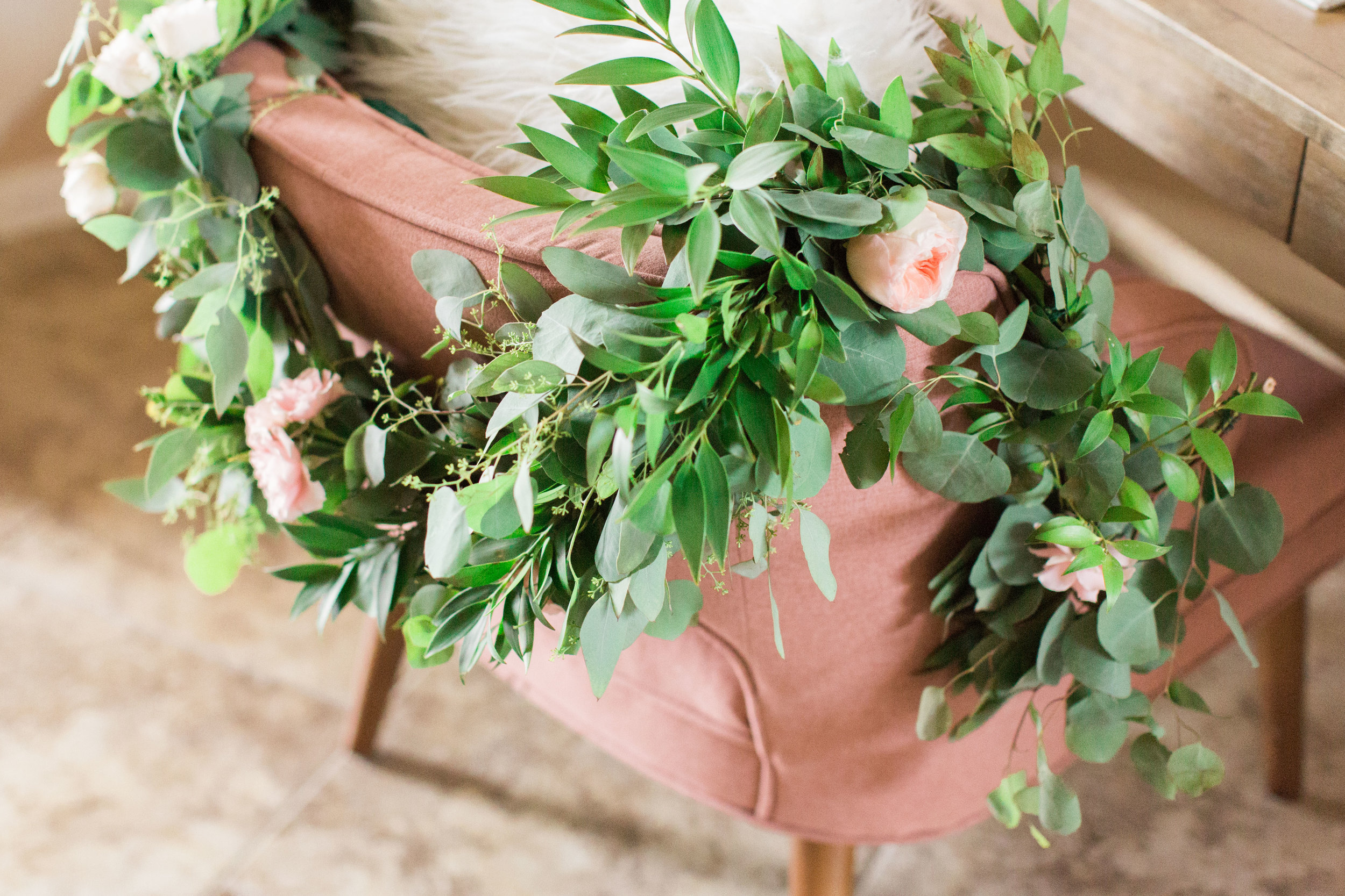 Greenery Garland by Lovely Soiree Floral Designs in Houston, Texas