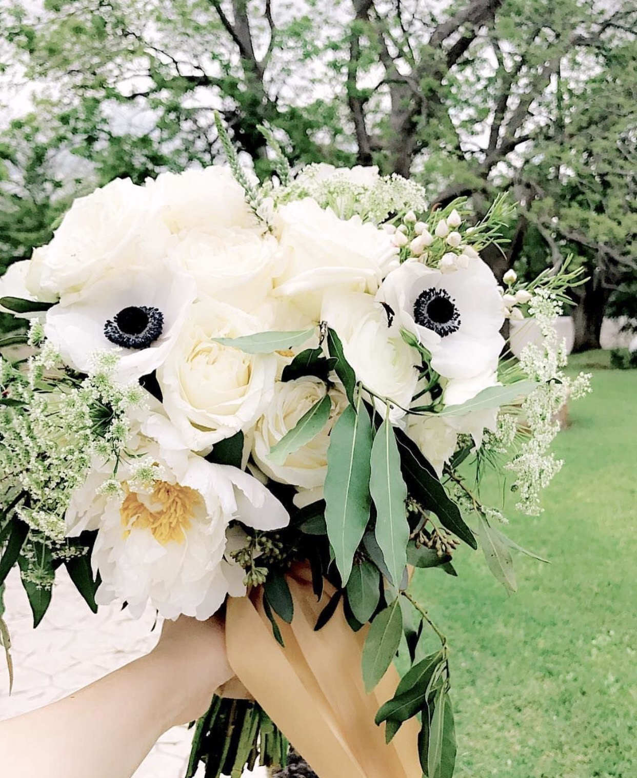 White-Bridal-Bouquet-Lovely-Soiree-Floral-Designs-in-Houston-Texas