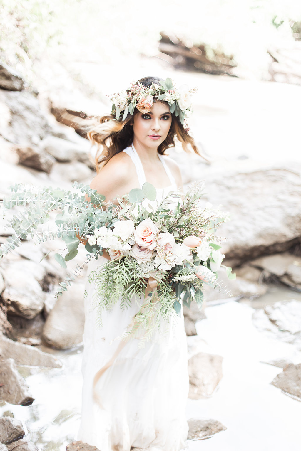 Romantic Bohemian Bouquet Lovely Soiree Floral Designs in Houston, Texas