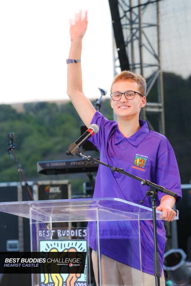 Photo:  Best Buddies offer leadership development opportunities for people like  Jack Mayor , a fantastic public speaker who now travels around sharing his story.