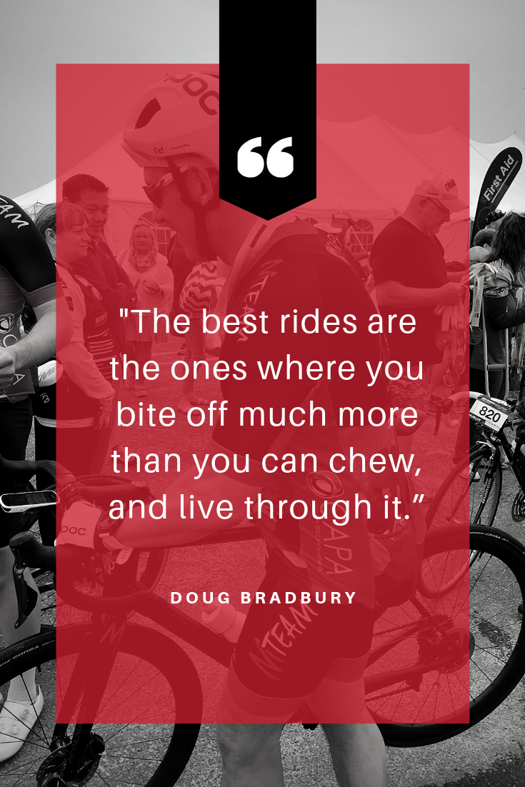 """Your bike is discovery; your bike is freedom. It doesn't matter where you are, when you're on the saddle, you're taken away."" - Doug Donaldson (4).png"