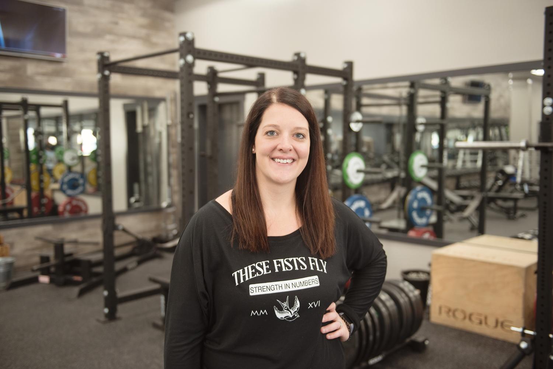 rhawnie giroux - personal trainer