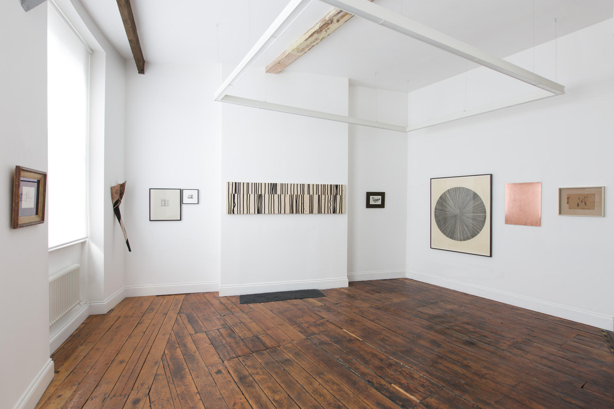 Installation View, Humble Black Line, Frameless Gallery