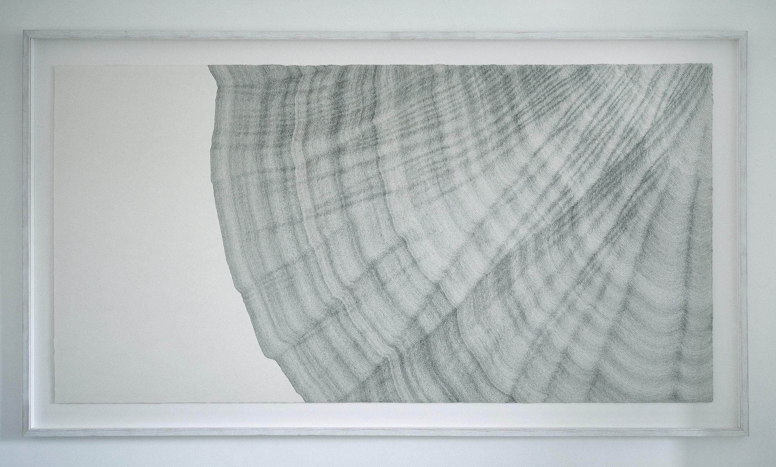 Odyssey, 2017, ink on Kozuke Rice Paper