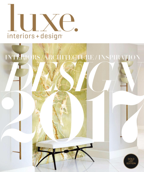 Luxe Magazine Gold List Issue, 2017