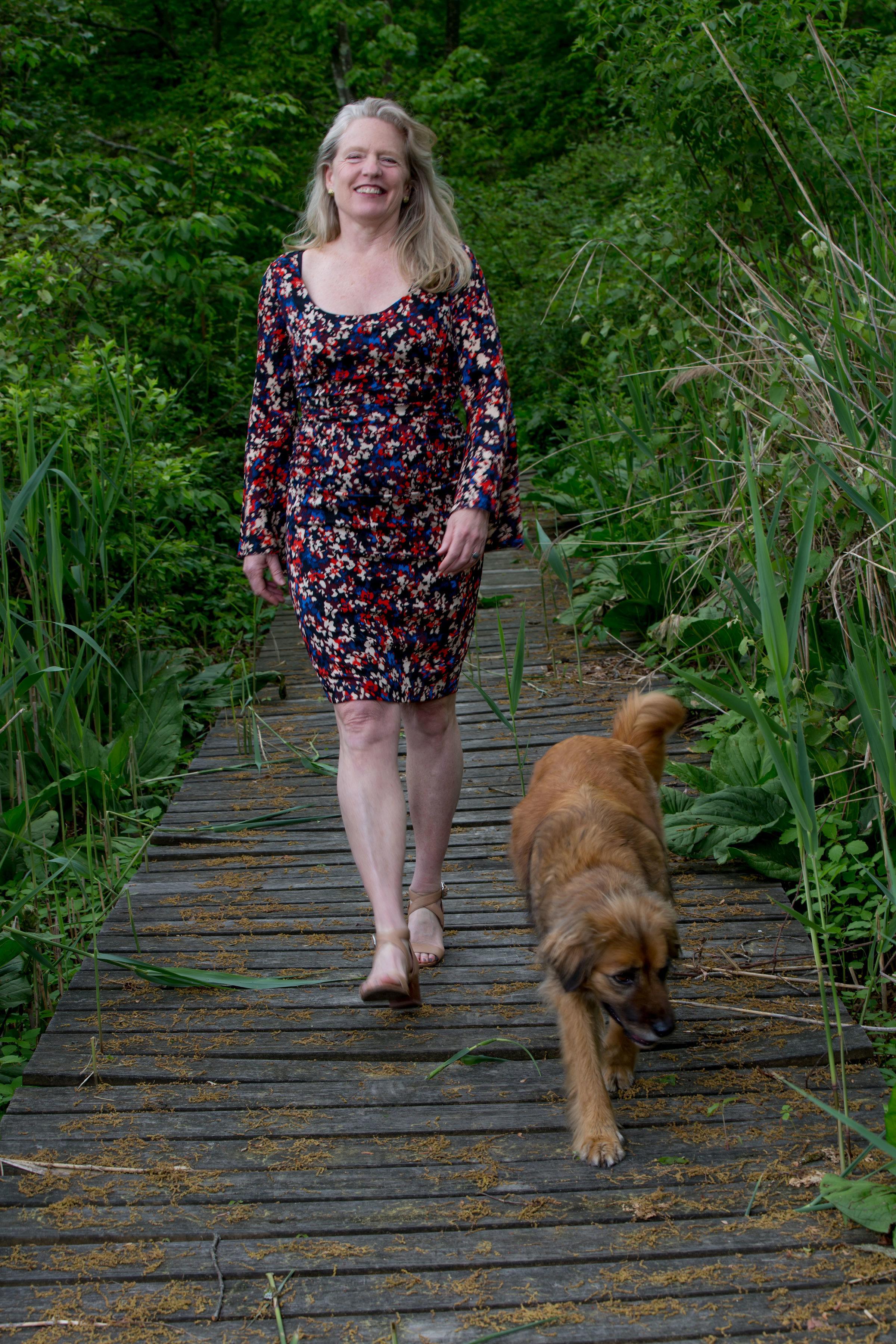 Susan Coleman Walking