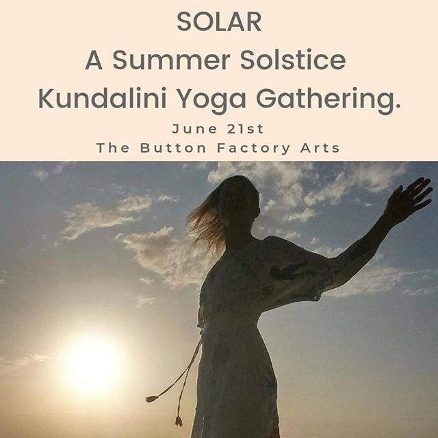 June is shaping up to be a super active month! With the release of more #yogainthepark sessions by @queenstreetyoga in DTK, this solstice kundalini yoga by @kundaliniwithkasia at @buttonfactoryarts Uptown and the solstice yoga at DTK City Hall by @goodvibesjuicecompany there's so many options to get moving!